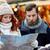 счастливым · пару · карта · город · направлять · старый · город - Сток-фото © dolgachov