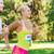 gelukkig · paar · racing · badge · nummers · fitness - stockfoto © dolgachov