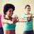 groep · glimlachend · mensen · dansen · gymnasium · studio - stockfoto © dolgachov