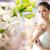belle · asian · femme · fleur · bijoux · beauté - photo stock © dolgachov