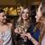 szczęśliwy · kobiet · szampana · okulary · klub · nocny · uroczystości - zdjęcia stock © dolgachov