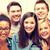 grupy · studentów · szkoły · edukacji · przyjaźni · kobiet - zdjęcia stock © dolgachov