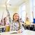 grupy · szkoły · dzieci · ręce · klasie · edukacji - zdjęcia stock © dolgachov