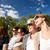 adolescentes · bebidas · juntos · casa · amigos - foto stock © dolgachov