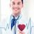 medico · ascolto · battito · cardiaco · stetoscopio · uomo - foto d'archivio © dolgachov