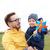 heureux · père · en · fils · jouet · extérieur · famille · enfance - photo stock © dolgachov