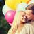 пару · шаров · целоваться · парка · женщину · любви - Сток-фото © dolgachov