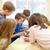 gruppo · scuola · ragazzi · classe · istruzione - foto d'archivio © dolgachov