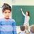 maestro · consolador · alterar · escuela · primaria · mujer · nina - foto stock © dolgachov