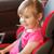 küçük · bebek · çocuk · güvenlik · araba · koltuk - stok fotoğraf © dolgachov