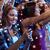 nő · okostelefon · sms · chat · üzenet · koncert · buli - stock fotó © dolgachov