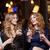 csinos · barátok · tyúk · éjszaka · éjszakai · klub · bár - stock fotó © dolgachov