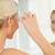 女性 · ドレッシング · アップ · 適用 · 化粧 - ストックフォト © dolgachov