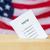 amerikan · oylama · kutu · seçim · kırmızı · beyaz - stok fotoğraf © dolgachov