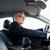 gelukkig · senior · zakenman · auto · rijden · vervoer - stockfoto © dolgachov