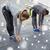 女性 · ストレッチング · 四肢 · スポーツ · 行使 · 冬 - ストックフォト © dolgachov