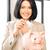 vrouw · spaarvarken · geld · foto · business · financieren - stockfoto © dolgachov