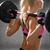 kadın · halter · spor · salonu · spor · uygunluk - stok fotoğraf © dolgachov