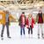 семьи · катание · Открытый · зима - Сток-фото © dolgachov