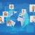 działalności · koledzy · multimedialnych · biuro · komputera - zdjęcia stock © dolgachov