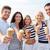 笑みを浮かべて · カップル · 食べ · アイスクリーム · 愛 · 女性 - ストックフォト © dolgachov