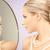 femeie · frumoasa · perla · colier · oglindă · frumuseţe · lux - imagine de stoc © dolgachov