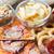 fast-food · lanches · mesa · de · madeira · insalubre · comer · pizza - foto stock © dolgachov