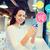 улыбающаяся · женщина · смартфон · торговых · онлайн · люди - Сток-фото © dolgachov