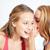 feliz · mulheres · jovens · fofoca · casa · amizade - foto stock © dolgachov