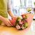 florista · hombre · flores · personas · negocios - foto stock © dolgachov