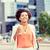 счастливым · африканских · деловая · женщина · кофе · город · деловые · люди - Сток-фото © dolgachov