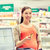 pregnant woman with credit card in drugstore stock photo © dolgachov