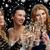 felice · amici · champagne · occhiali · party · celebrazione - foto d'archivio © dolgachov