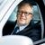 happy senior businessman driving car stock photo © dolgachov