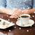 sobremesa · tempo · pintura · servido · tabela · restaurante - foto stock © dolgachov