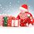 помощник · ребенка · Рождества · подарки · белый - Сток-фото © dolgachov