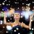 улыбающаяся · женщина · рук · люди · счастье · праздников - Сток-фото © dolgachov