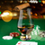 vidrio · whisky · cartas · mesa · juego · entretenimiento - foto stock © dolgachov
