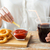 de · comida · rápida · aperitivos · beber · mesa · una · alimentación · poco · saludable - foto stock © dolgachov