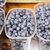 close up of blueberries in boxes at street market stock photo © dolgachov