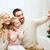 家族 · クリスマス · 幸せ · 小さな · サンタクロース - ストックフォト © dolgachov