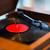 klasszikus · lemezjátszó · izolált · fehér · lemez · tű - stock fotó © dolgachov