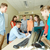 csoport · diákok · mosolyog · tanár · jegyzettömb · oktatás - stock fotó © dolgachov