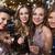 csinos · lány · üveg · pezsgő · gyönyörű · csinos · nő - stock fotó © dolgachov