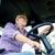 landbouwer · rijden · trekker · familie · handen · gelukkig - stockfoto © dolgachov