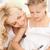 szczęśliwy · matka · pomoc · córka · praca · domowa · domu - zdjęcia stock © dolgachov