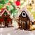 güzel · zencefilli · çörek · evler · ev · tatil - stok fotoğraf © dolgachov