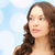 piękna · młoda · kobieta · twarz · piękna · ludzi · zdrowia - zdjęcia stock © dolgachov
