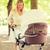 boldog · anya · park · család · gyermek · nevelés - stock fotó © dolgachov