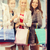 gelukkig · jonge · vrouwen · mall · verkoop - stockfoto © dolgachov
